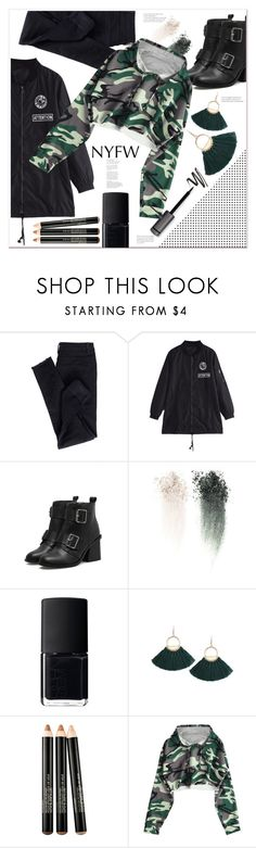 """""""Ready for it"""" by mycherryblossom ❤ liked on Polyvore featuring NARS Cosmetics, Smashbox and NYFW"""