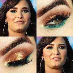 Tutorial – maquiagem da Demi Lovato e o que eu melhorei/mudei na minha makeup