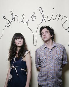 She & Him  they make my ears happy :)
