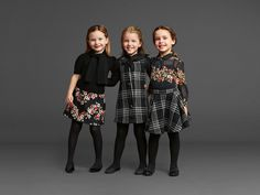 Dolce and Gabbana kids collection FW 2013 Fashion Kids, Little Girl Fashion, Little Girl Dresses, Toddler Fashion, Girls Dresses, School Fashion, Fashion Clothes, Pageant Dresses, Fashion 2018