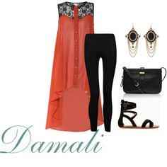 """Hi Low and Pretty you go."" by damali64 on Polyvore"
