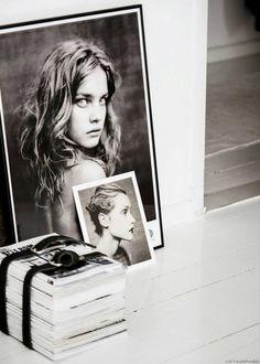 La magia della fotografia di Line Kay #monocromatic #photograpy #portrait