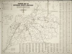Coleman's Pioneer Map of Jefferson County and Assembled Maps of Incorporated Towns