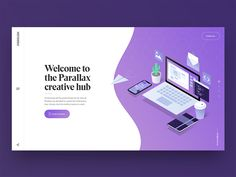 Landing page for an internal project I'm working on at work. Check the attachment for a closer look :)