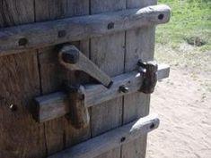 Viking door lock, simple, but effective!