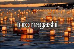 toro nagashi
