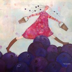malerier til salgs : galleri m : malerier av marit bergem