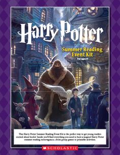 Harry Potter Summer Reading Event
