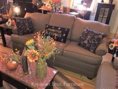 Country Sofas, Couch, Furniture, Home Decor, Settee, Decoration Home, Sofa, Room Decor, Home Furnishings
