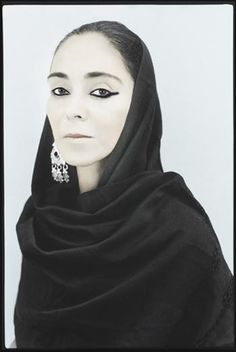 Photograph taken by Youssef Nabil of performance artist Shirin Neshat, Casablanca, 2007 — she is one of my most favorite artists.  Hand-coloured gelatin silver print.  SOLD AT AUCTION FOR £6,250