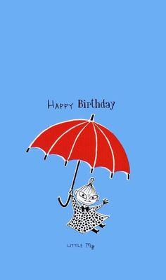 Birthday Wishes Funny, Happy Birthday Cards, It's Your Birthday, Tove Jansson, Little My Moomin, Finland Trip, Estilo Coco Chanel, Cartoon Photo, Ghibli