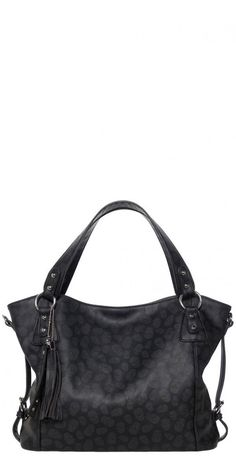 The Savage Purse in Skulls is a great everyday bag. It is decorated with an all over subtle skull print. It features sturdy shoulder straps, silver-toned hardware, a detachable crossbody strap, plus tassel and keyring accent! The generous size means you can carry everything you need and more while interior pockets keep essentials organized and within reach.