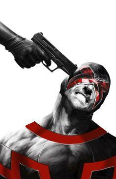 Uncanny X-Men #18 - Cyclops by Alexander Lozano - So cool.