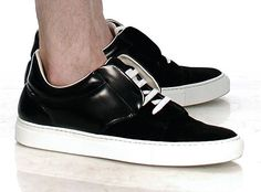 "Giuliano Fujiwara Suede ""Spoiler"" Sneaker"