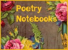 How to keep a poetry notebook.