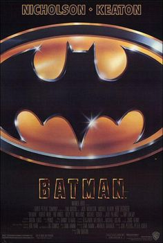 """Batman (AKA Tim Burton's Batman)"" (1989). COUNTRY: United States. DIRECTOR: Tim Burton. SCREENWRITER: Sam Hamm, Warren Skaaren (Comic: Bob Kane). COMPOSER: Danny Elfman (Songs: Prince). CAST: Michael Keaton, Jack Nicholson, Kim Basinger, Robert Wuhl, Pat Hingle, Billy Dee Williams, Michael Gough, Jack Palance, Jerry Hall"