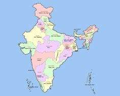 awesome Map of India  Travelsmaps  Pinterest  India