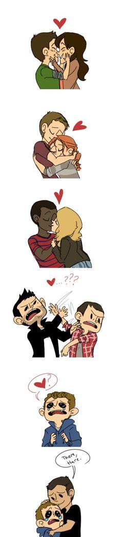 Teen wolf Couples... AHHHHH love <3