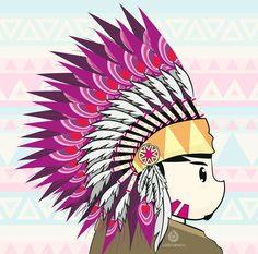 he yaka yaka by oddzoddy on DeviantArt Tribal Pattern Background, Dots, Deviantart, Artwork, Work Of Art, Stitches, Polka Dots