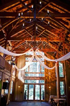 We've died and gone to barn heaven. The Nestldown in Santa Cruz is so perfect for a rustic meets modern wedding.