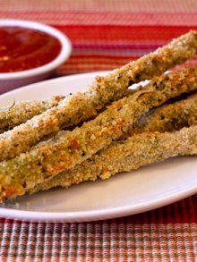 Italian Asparagus Sticks | Weelicious