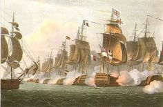 Batalla de Trafalgar.  En el mar Napoleón había perdido toda oportunidad de derrotar a los británicos y aunque faltaba mucho trama en la guerra, para Gran Bretaña continuaba con la hegemonía marítima
