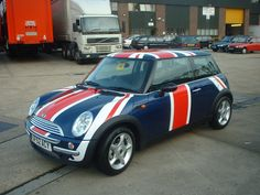 Union Jack Mini Cooper. My dream. Beep beep motherf***ers!!!