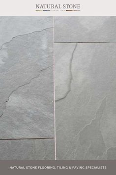 Dalian Grey slate riven are calibrated stone floor tiles have minimal tonal variation with a slightly riven surface adding to the character. They have good non-slip properties making them a perfect choice for interior or exterior use. Using a wide grout joint you will be able to create an old flagstone floor appearance. Please visit the website to discover more. #naturalstoneconsultancy #naturalstoneflooring #flagstones Flagstone Flooring, Slate Flooring, Grey Slate Floor Tiles, Tile Floor, Luxury Interior, Interior And Exterior, Dalian, Natural Stone Flooring, Paving Stones