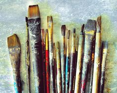 Check out our paint selection for the very best in unique or custom, handmade pieces from our photography shops. Gifts For An Artist, Rural Area, Wall Decor, Wall Art, Love Signs, Paint Brushes, Studio Studio, Artist Wall, Rustic