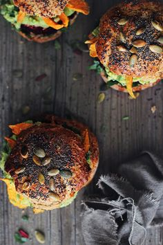 Ultimate Veggie Burgers - I'm not keen on converting classic meat dishes into meatless ones by any means, but when it comes to veggie burgers, I just can't stop exploring the combinations.