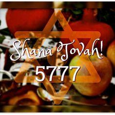 Beginning at sundown on October 2nd: #jewish new year 5777. Rosh Hashanah.