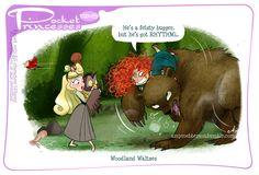 Pocket Princesses 198: Woodland Waltzes Please reblog, don't repost, edit or remove captions Facebook - Instagram