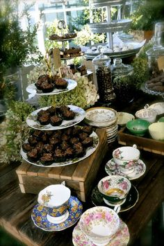 rent vintage china in toronto. www.vintagedishrental.com Vintage Dessert Tables, Wedding Inspiration, Wedding Ideas, Make Your Mark, Vintage China, Tablescapes, Toronto, Table Settings, Dishes