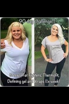 Love results like this!!! Join the 90 day challenge with It Works!! Click on the picture to get your Triple Threat!