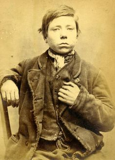 James Donneley, aka James Darley; at the age of just 16 this young man had been in and out of prison, but on this occasion he was sentenced to 2 months for stealing some shirts. Age:16 Height:5.0; Hair: Brown; Eyes: Hazel; Place of Birth: Shotley; Occupation: Labourer. These photographs are of convicted criminals in Newcastle between 1871 - 1873.