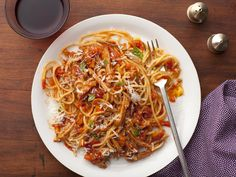 Turkey Bolognese recipe from Giada De Laurentiis via Food Network