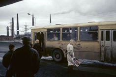 From a series of 23 pictures by French journalist Jean-Paul Guilloteau taken in Russia in 1990-95