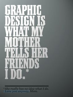 """Great poster from """"What is Graphic Design?"""" poster contest."""