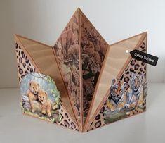 Fancy Fold Cards, Folded Cards, Decoupage, Decorative Boxes, Doodles, Templates, Home Decor, Tutorials, Cards