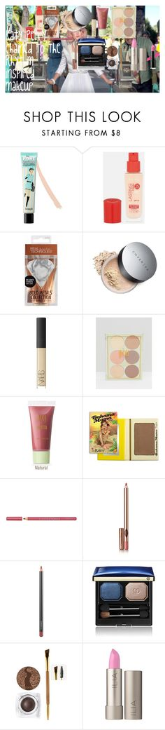 """""""Katy Perry Chained To The Rhythm inspired makeup"""" by oroartye-1 on Polyvore featuring beauty, Benefit, Rimmel, NARS Cosmetics, Pixi, Bourjois, Charlotte Tilbury, MAC Cosmetics, Clé de Peau Beauté and tarte"""