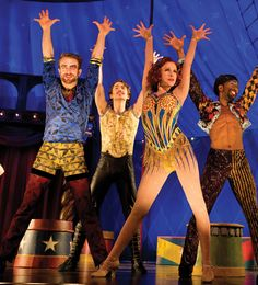 """Colin Cunliffe (left) in """"Pippin"""" (photo by Joan Marcus)"""