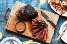 Steak with Memphis BBQ Rub ~ Your steak will sing like the King with this Memphis BBQ rub from Sun Basket featuring a mix of paprika, garlic, thyme, black pepper, and a bit of brown sugar. To bring it to the extent of its delicious flavor, rub it in about 12 hours before grilling, and don't forget to leave some for […] ~ https://www.mealauthority.com/recipe/steak-with-memphis-bbq-rub