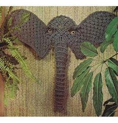 macrame elephant - Google Search