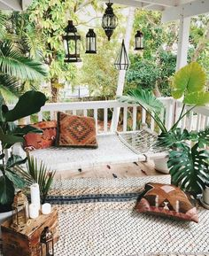 Best Boho Chic Outdoor Furniture To Redesign Porch Looking to upgrade your outdoor space? Get inspired before you start your makeover by these bohemian porches. From the eclectic to the colorful, here are our favorite boho outdoor spaces.