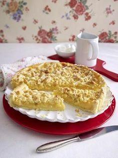 Das Rezept für Zitronen-Streusel-Tarte und weitere kostenlose Rezepte auf LECKER.de