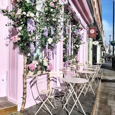 Pink Cafe, Cafe Bar, Pretty In Pink, London, Day, Collection, Instagram, Home Decor, Cafes