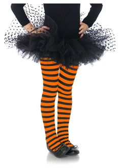 Girls Orange And Black Striped Tights by Leg Avenue Childrens Fancy Dress, Fancy Dress For Kids, Cool Halloween Costumes, Halloween Outfits, Kids Dance Wear, Striped Tights, Leg Avenue, Black Stripes, Legs