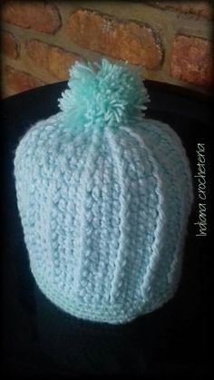 Gorrinho bebê!  Aceitamos encomendas  Instagram Indiana_crocheteria  Página no Facebook indianacrocheteria @indianacrocheemgeral