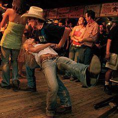 Nothing wilder than dancin' the Cotton Eyed Joe at the Gruene Hall.
