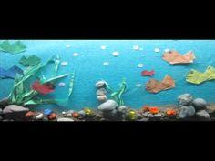 Marine Life stop motion - YouTube